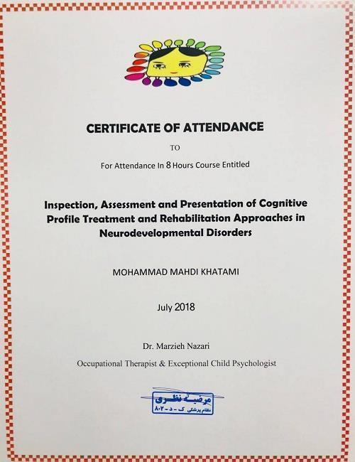 *معرفی ابزارهای تشخیصی رسمی اختلالات تکاملی *تعیین مسیر مداخله وارایه راهکارهای درمانی