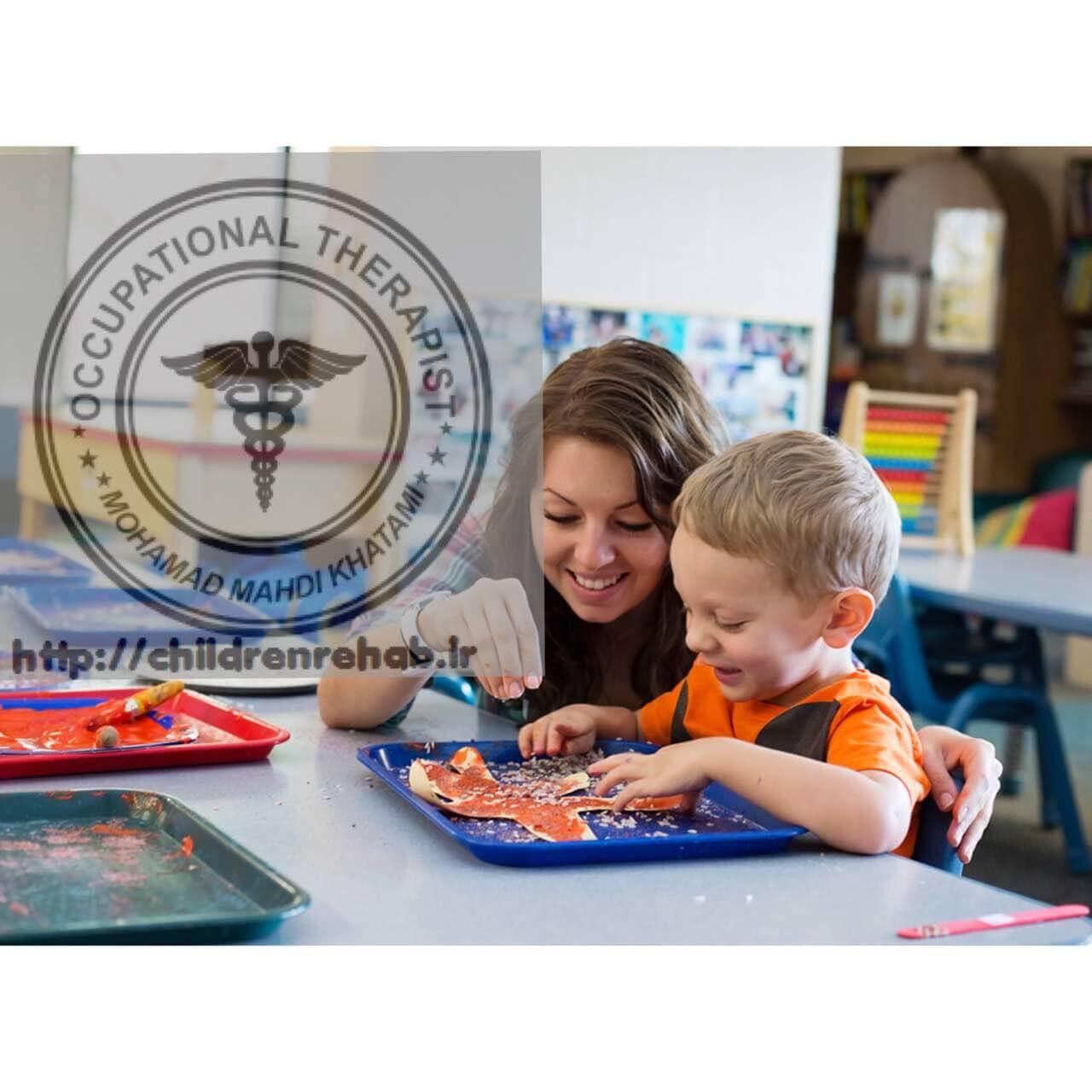 کاردرمانی در کودکان فلج مغزی-کاردرمانی جسمی-مهارتهای دیداری حرکتی