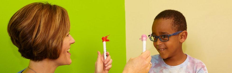 کاردرمانی کودکان در اختلالات بینایی